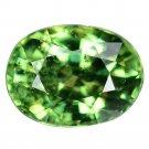 1.1 Ct. Rare Stunning Luster Green Demantoid Garnet Loose Gemstone With GLC Certify