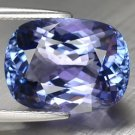 10.74 Ct. If Natural Top Kashmir Blue D-block Tanzanite Loose Gemstone With GLC Certify