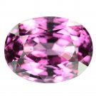 4.04 Ct. Flawless Oval Purple Pink Natural Spinel Loose Gemstone With GLC Certify