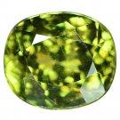 3.01 Ct. Wonderful Luster Russian Demantoid Garnet Loose Gemstone With GLC Certify