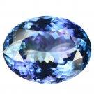 10.16 Ct. Natural Top Kashmir Blue D-block Tanzanite Loose Gemstone With GLC Certify