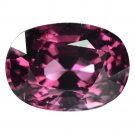 4.1 Ct. Superior Intense Purple Spinel Unheated Loose Gemstone With GLC Certify