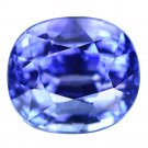 4.04 Ct. Top Kashmir Blue D-block Natural Tanzanite Loose Gemstone With GLC Certify