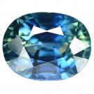 3.565 Ct. Natural Unheated Top Royal Blue Sapphire Loose Gemstone With GLC Certify