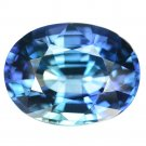 6.15 Ct. Natural Top Aaa Blue Tanzanite Loose Gemstone With GLC Certify
