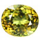 2.43 Ct Lustrous Best Green Demantoid Garnet Loose Gemstone With GLC Certify