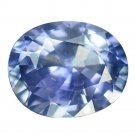 3.06 Ct. Vvs Cornflower Blue Unheated Oval Sapphire Loose Gemstone With GLC Certify