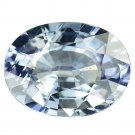 2.37 Ct. Natural Unheated Blue Sapphire Tanzania Loose Gemstone With GLC Certify