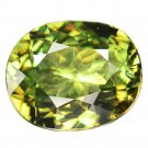 4.42 Ct. Lustrous Best Green Natural Demantoid Garnet Loose Gemstone With GLC Certify