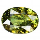 3.64 Ct. Lustrous Best Green Namibia Demantoid Garnet Loose Gemstone With GLC Certify