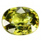 3.18 Ct. Stunning Luster Green Demantoid Garnet Loose Gemstone With GLC Certify