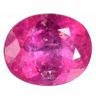 3.99 Ct. Nice Top Hot Pinkish Red Natural Rubellite Tourmaline Loose Gemstone With GLC Certify