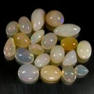 53.97 Ct. Fabulously Top Play Of Color Ethiopian Opal Lot Loose Gemstone With GLC Certify