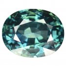 6.38 Ct. Natural Greenish Blue Sapphire Oval Loose Gemstone With GLC Certify