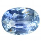 1.24 Ct. Natural Blue Unheated Sapphire Loose Gemstone With GLC Certify