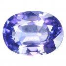 2.08 Ct. Unheated Purple Blue Tanzania Sapphire Loose Gemstone With GLC Certify