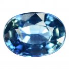 1.17 Ct. Vvs Blue Unheated Oval Sapphire Loose Gemstone With GLC Certify