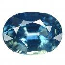 1.28 Ct. Unheated Blue Tanzania Sapphire Loose Gemstone With GLC Certify