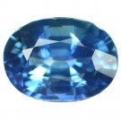 1.12 Ct. Unheated Blue Tanzania Sapphire Loose Gemstone With GLC Certify