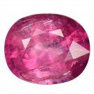 3.55 Ct. Magnificent Pinkish Red Rubellite Tourmaline Loose Gemstone With GLC Certify