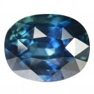 3.05 Ct. Unheated Natural Dark Blue Sapphire Loose Gemstone With GLC Certify