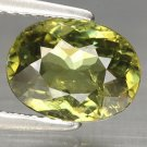 2.36 Ct. Rare Top Green Natural Demantoid Garnet Loose Gemstone With GLC Certify