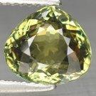 2.73 Ct. Rare Best Green Natural Demantoid Garnet Loose Gemstone With GLC Certify