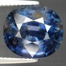 9.52 Ct. Natural Royal Blue Unheated Sapphire AAA Cutting Loose Gemstone With GLC Certify