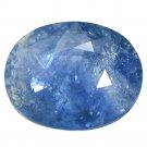 3.41 Ct Exclusive Glinting Dark Blue Tanzania Sapphire Loose Gemstone With GLC Certify