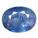 4.58 Ct Exclusive Glinting Dark Blue Tanzania Sapphire Loose Gemstone With GLC Certify