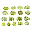 12.15 Ct. Mix Shape VVS Quality Natural Chrysoberyl Loose Gemstone Set