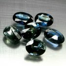 7 Ct. Natural Greenish Blue Sapphire Over 1 Ct. Size Lot Loose Gemstone With GLC Certify