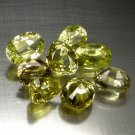 10.12 Ct. Mix Shape VVS Quality Natural Chrysoberyl Loose Gemstone Set