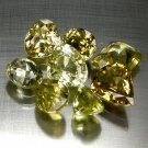 10.39 Ct. Mix Shape VVS Quality Natural Chrysoberyl Loose Gemstone Set