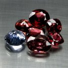 10.26 Ct. Vivid Color Natural Tanzania Spinel Loose Gemstone Set