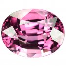 3.05 Ct Natural Intense Pink Vvs Tanzania Spinel Oval Loose Gemstone With GLC Certify
