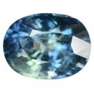 6.23 Ct. Unheated Top Luster Greenish Blue Sapphire Loose Gemstone With GLC Certify