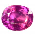 1 Ct. Natural Unheated Vivid Intense Red Tanzania Ruby Loose Gemstone With GLC Certify