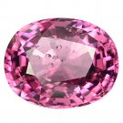 3.27 Ct. Natural Intense Pink Tanzania Spinel Gems Loose Gemstone With GLC Certify