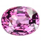 3.46 Ct. Lustrous Hiend Intense Pink Natural Spinel Loose Gemstone With GLC Certify