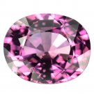 2.94 Ct. Oval Intense Pink Natural Tanzania Spinel Loose Gemstone With GLC Certify