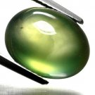 7.80 Ct. Finest Quality Oval Cabochon Cut Prehnite Loose Gemstone With GLC Certify