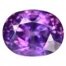 2.67 Ct. Natural Purple Sapphire Oval Loose Gemstone With GLC Certify