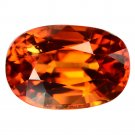 3.58 Ct. Exceptional Hot Orange Mandarin Garnet Loose Gemstone With GLC Certify