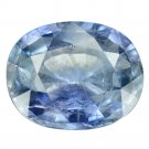5.96 Ct. Rare Unheated Top Blue Natural Sapphire Loose Gemstone With GLC Certify