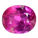 1.12 Ct. Natural Unheated Vivid Intense Red Tanzania Ruby Loose Gemstone With GLC Certify