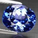 3.43 Ct. Natural Tanzanite Oval Aaa Color Top Luster Loose Gemstone With GLC Certify