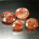 30.32 Ct. Natural Unheated Vivid Intense Orange Sunstone Loose Gemstone
