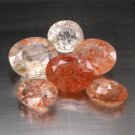 30.87 Ct. Natural African Orange Sunstone Set Loose Gemstone