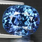 7.39 Ct. Natural Intense Royal Blue Tanzanite AAA Loose Gemstone With GLC Certify